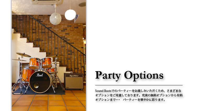 パーティーオプション